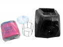 New Reproduction Polyurethane Airbox Complete Kit that fits the 1974.5 1975 Maico 250 400