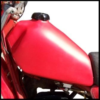 1980-1983 Maico 250 400 440 490 Gas Tank Red
