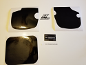 1983 Yamaha YZ 80 Number Plate Backgrounds Black