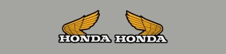 1984 Honda CR 125 Radiator Shroud Decals