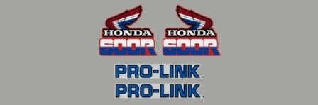 1985 Honda XL 600R Decal Kit