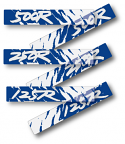 1992 Honda CR 125 250 500 Swingarm Decals - Select a model