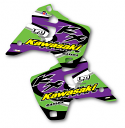 1993 Kawasaki KX 125 250 Shroud Decals Graphics Factory Style Full Cover