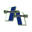 1980 1981 Kawasaki KX 125 250 420 Tank Decals Die Cut Perforated