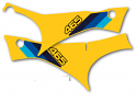 1982 Suzuki RM 465 Side Panel Decals Full Cover