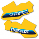 1981 Suzuki RM 125 Tank Decals Graphics Full Cover US Version