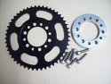 1974 1975 Yamaha YZ MX 125 175 428 Size Rear Sprocket & Spacer Kit