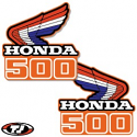 1986 Honda CR 500 Radiator Shroud Decals Die Cut