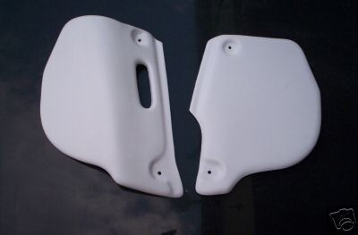 1985-1987 ATK 560 Side Panels White