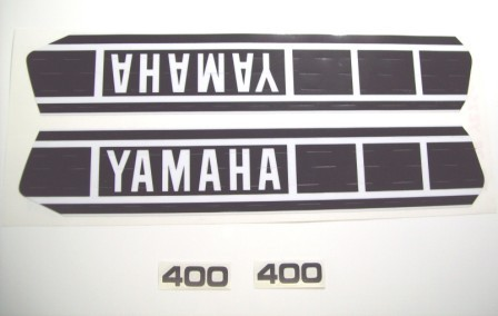 1978 Yamaha YZ 400 Tank & Side Panel Decal Kit