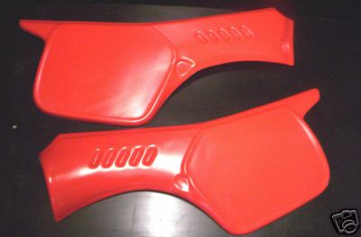 1983/1984 Cagiva WMX 125/250 Side Panels Red
