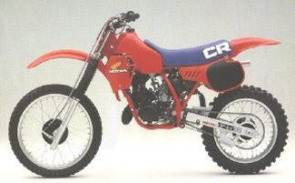 1983 Honda CR 125 Plastic Kit Flash Red