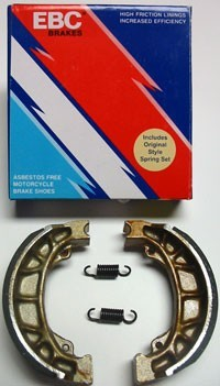 1976-1983 Suzuki RM 125; 80/81 PE 175; 76-78 RM 250; 76/77 RM 370; 78 RM 400 Front Brake Shoes