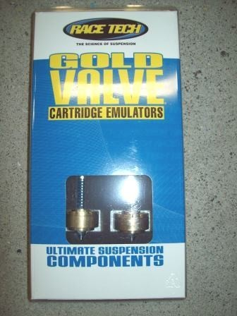 Race Tech Gold Valve Cartridge Emulators & Adaptors FEGV 2901 & FPEV AD2901P  1973 1974 Honda CR 250