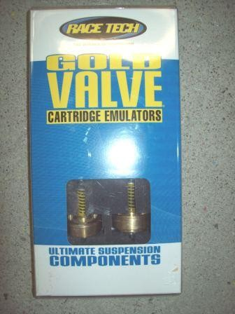 Race Tech Gold Valve Cartridge Emulators 43mm FEGV 4121