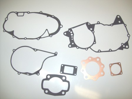 1975-1977 Honda CR 250 CR250 Complete Engine Gasket Kit