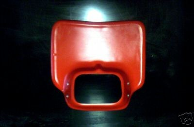 1981/1982 Honda XR 200R 250R 500R Headlight Holder Red