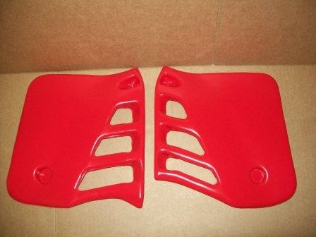 1985/1986 Honda CR 250 Radiator Shrouds Red