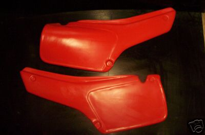 1981/1982 Honda XR 250/500 Side Panels Red