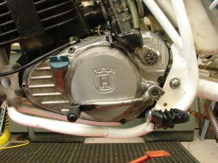 1982-1984 Husqvarna CR WR XC Air Cooled Clutch Cover