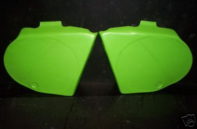 1978 Kawasaki KX 125 250 Side Panels Green
