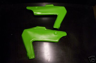 1982 Kawasaki KDX 250 Side Panels Green