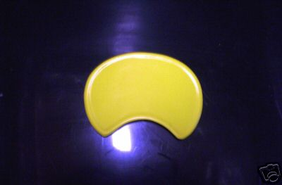 1973-1976 Penton GS Enduro Front Number Plate Yellow