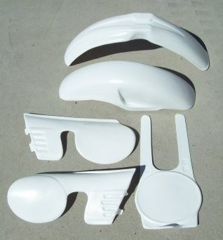 1980 KTM MC 125 250 420 Plastic Kit