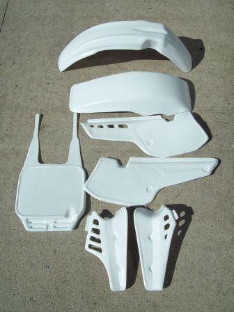 1984 KTM 125 MX Plastic Kit