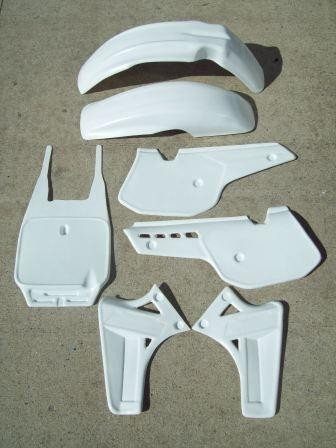 1985/1986 KTM 250 MX Plastic Kit