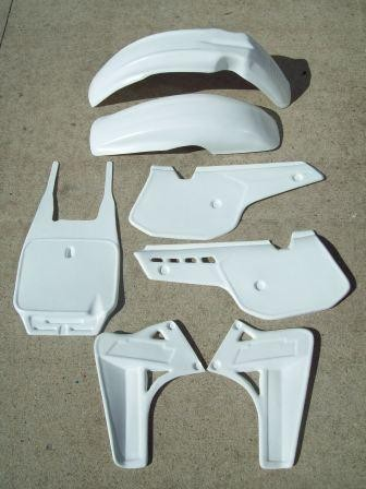 1985/1986 KTM 500 MX Plastic Kit