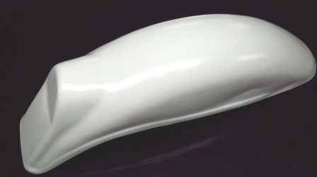 1972-1978 KTM Penton GS6 Enduro Rear Fender White