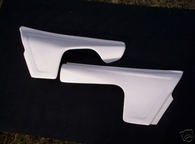 1981 KTM 250 495 Side Panels White