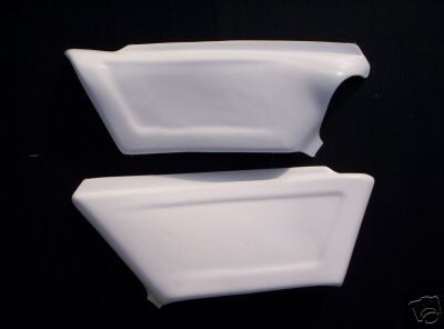 1982 KTM MC GS 250 495 Side Panels White