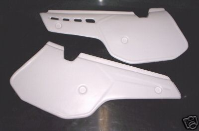 1985/1986 KTM Side Panels White