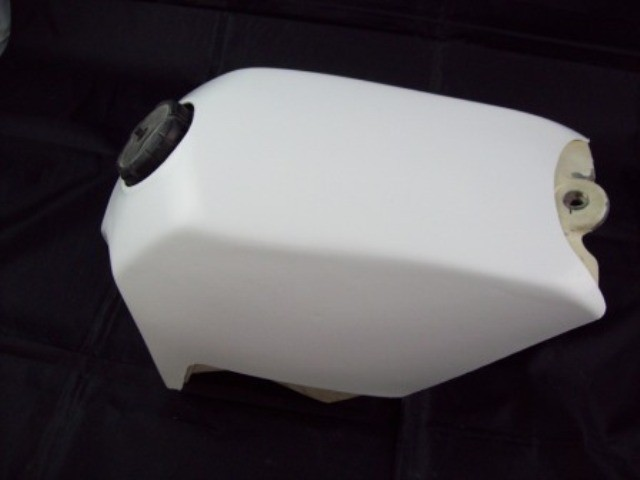 1985/1986 KTM 500 MX Gas Tank Skin Cover