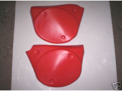 1977 Maico Side Panels Red