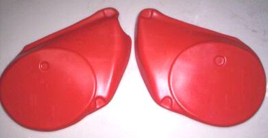 1978 Maico Side Panels Red
