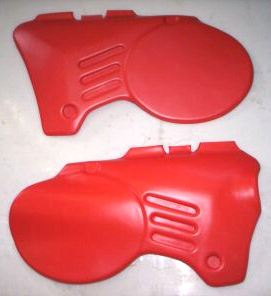 1980 Maico Side Panels Red
