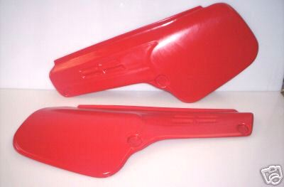 1984 Maico M-Star Side Panels Red