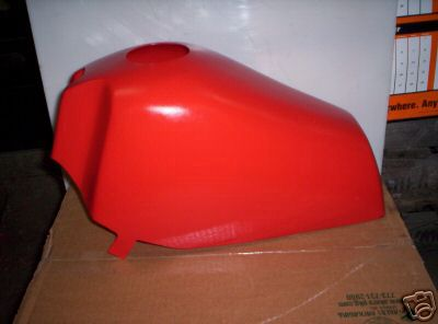 1980-1983 Maico Tank Skin Cover Red