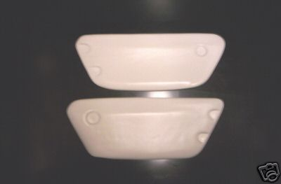1971/1972 Ossa MAR Trials Side Panels White
