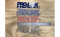 1987 Honda CR 125 250 500 Pro-Link Swingarm Decal Pair Blue Outline