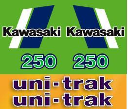 1982 Kawasaki KX 250 Decal Kit