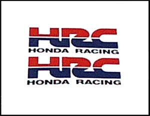 Vintage Honda HRC Racing Decals