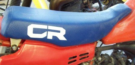 1984 Honda CR 80 Seat Cover