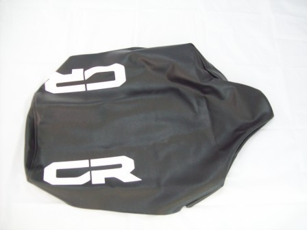 1984 Honda CR 250/500 No Slip Gripper Seat Cover Black
