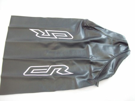 1986 Honda CR 250/500 No Slip Gripper Seat Cover Black