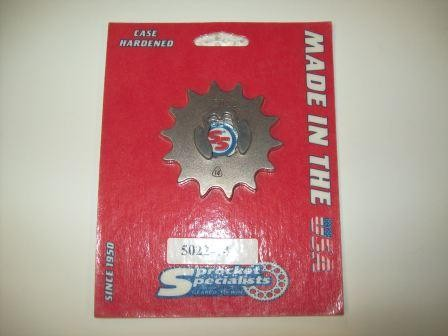 1974-1978 Honda CR 125 CR125 Front Sprocket 14T