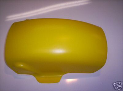 1971-1975 Suzuki TM 100 125 250 400 Inner Rear Fender Yellow